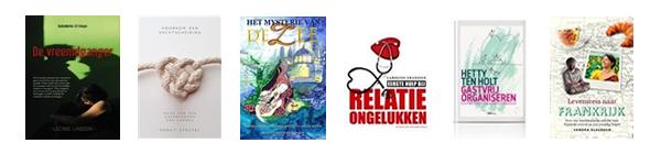 Deze boeken verschenen in 2014 met mijn hulp als boekenvroedvrouw.