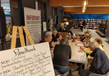 Workshop familieverhalen schrijven in de bibliotheek van Aalsmeer